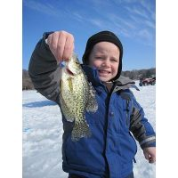 Another happy kid with a crappie