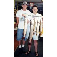 A limit of beautiful Northerns caught by Josh's client back in the mid 1990's.