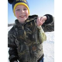 Another happy kid fishing with Josh