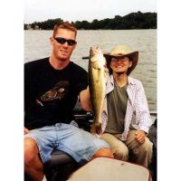Nice mid-day walleye from Bald Eagle Lake