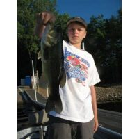 Yet another youngster with a big smallmouth