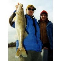 Uncle Curt Catallo with a good looking walleye