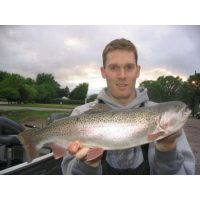 Big Lake Elmo Trout caught on a Rapala