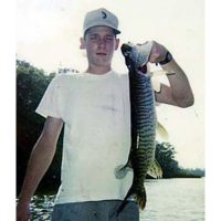One of the many tigers Josh caught as a kid